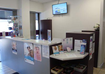 Dentist Yeronga Ria Family Dental Reception Area