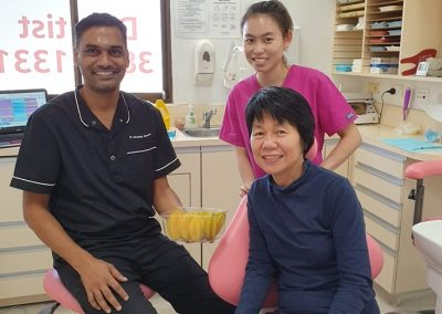 Dentist Yeronga _ Ria Family Dental _ Staff with patient