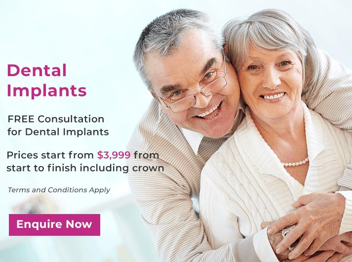 dental implants promo banner yeronga